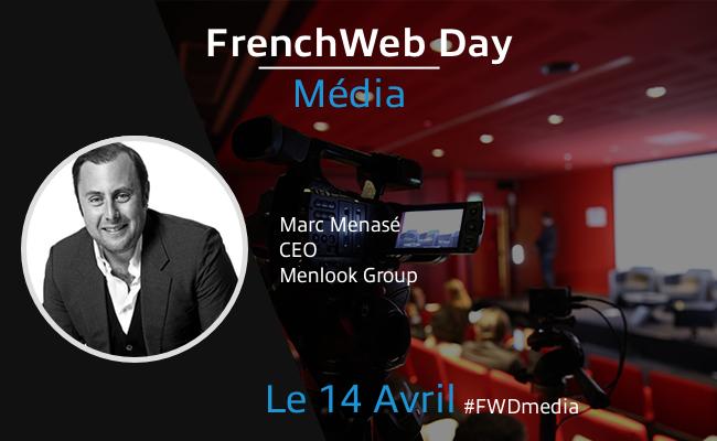 Photo de [Frenchweb Day Média] Marc Menasé:«L'expérience du live est encore peu exploitée sur le Web»