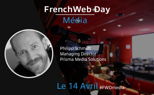 Photo de [Frenchweb Day Média] Philipp Schmidt: «Nous sommes tous en 'test & learn' pour construire le modèle de demain»