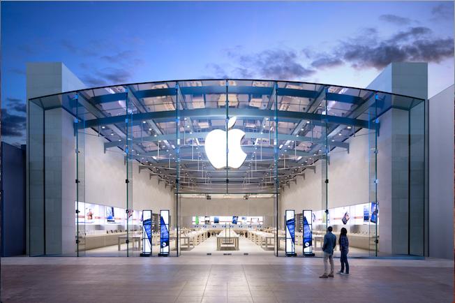 Photo de Redressement fiscal pour la filiale gérant les Apple Stores en France