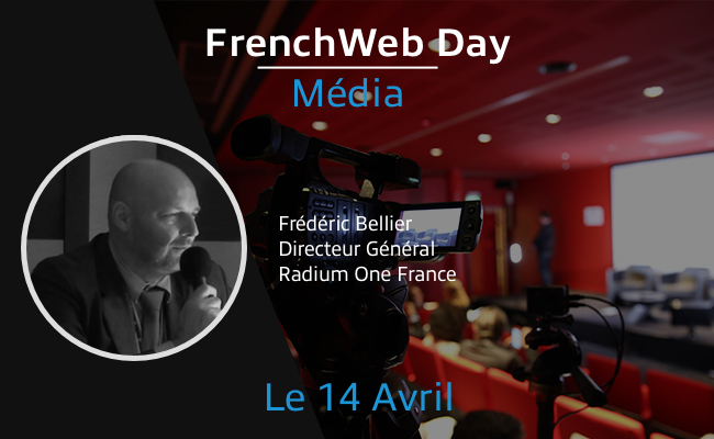 Photo de [Frenchweb Day Média] Frédéric Bellier: «Vincent Bolloré est le feuilleton du moment, c'est House of Business Cards»