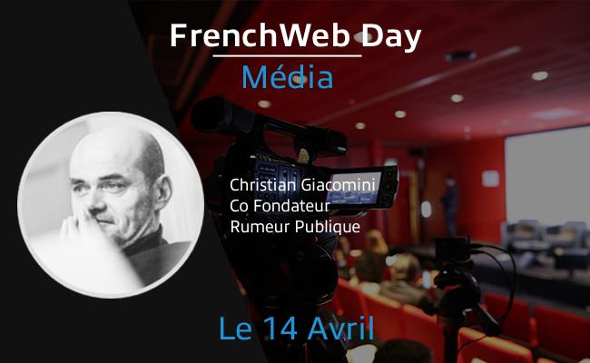 Photo de [Frenchweb Day Média] Christian Giacomini: «Les médias font beaucoup pour améliorer leur customer experience»
