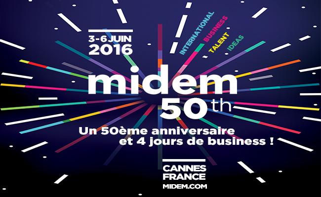 Photo de MIDEM Fête ses 50 ans en 2016