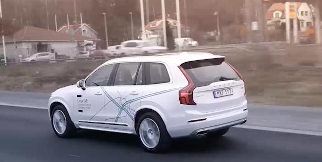 Photo de Volvo va «bêta-tester» sa voiture autonome dans les rues de Londres dès 2017