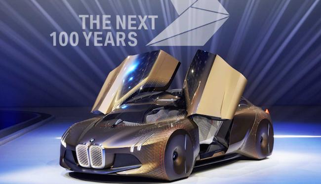 Photo de Pour ses 100 ans, BMW joue la carte de la promotion de start-up made in France