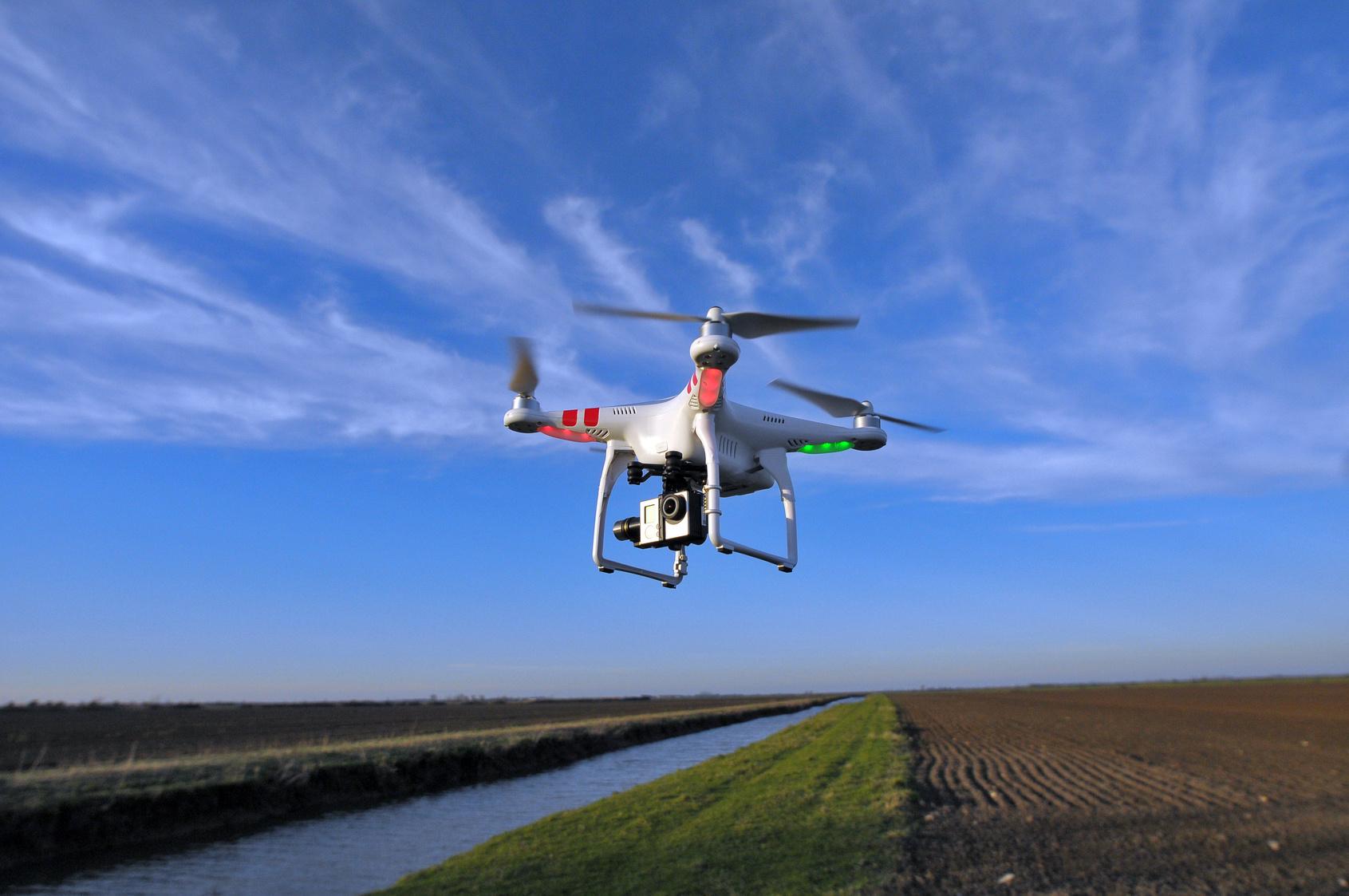 Photo de Le drone, nouvel allié de l'agriculture et de l'environnement