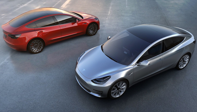 Photo de Tencent prend 5% de Tesla avant le début de la production de la Model 3