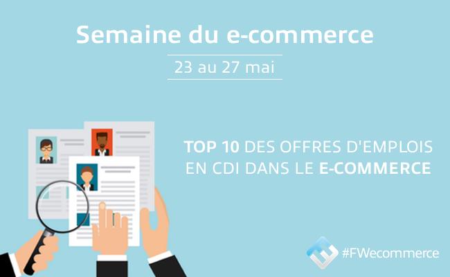 Photo de [EMPLOI] Top10 des offres d'emploi dans le #ecommerce: La Redoute, Sushi Shop, Mister Auto…