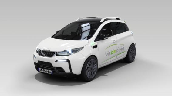 Photo de [INSIDERS] Une voiture autonome dans Paris…
