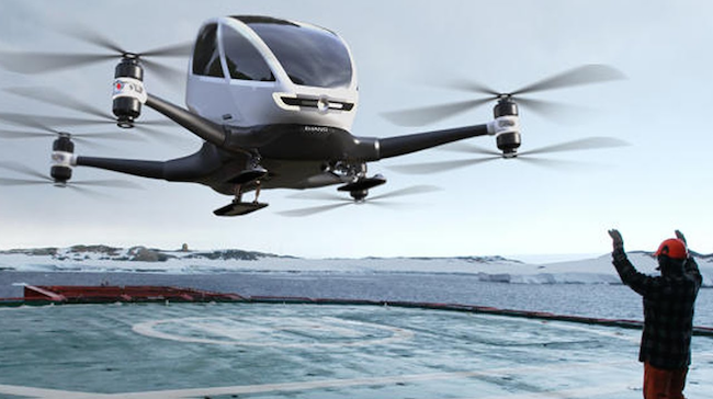 Photo de [INSIDERS] Des drones pour transporter les organes artificiels pour les greffes…