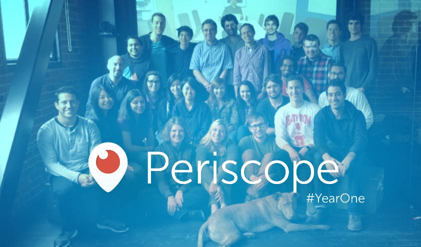 Photo de Periscope recrute un rédacteur en chef pour éditorialiser le live