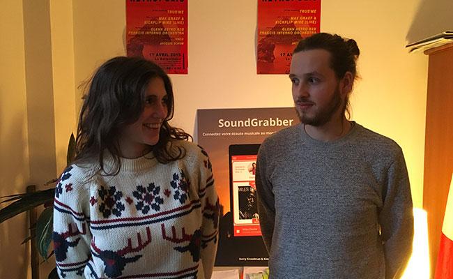 Photo de SoundGrabber, le Tinder français de la musique, en compétition au Midem de Cannes