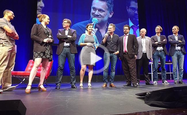 Photo de Gaël Duval envoie 6 start-up pitcher in the plane pour la 3ème édition de la French Touch Conference