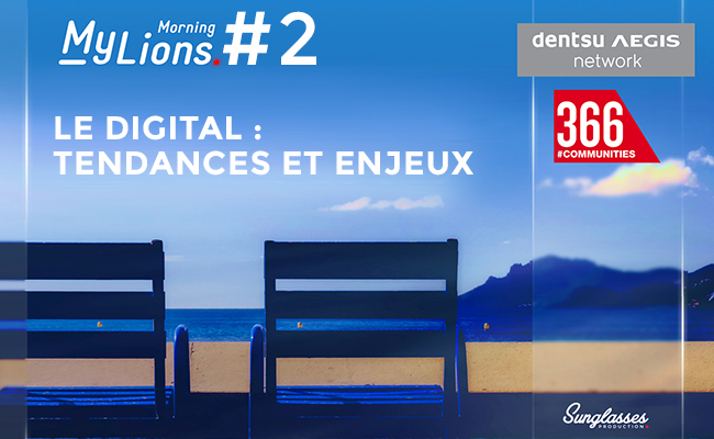 Photo de My Lions Morning #2 Le digital: tendances et enjeux