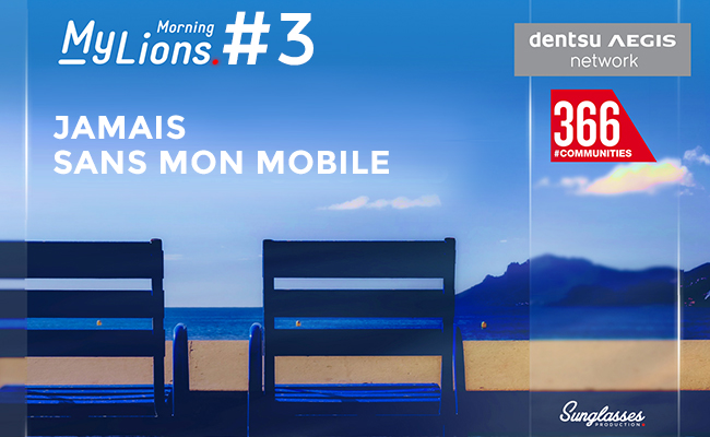 Photo de My Lions Morning #3: Jamais sans mobile !