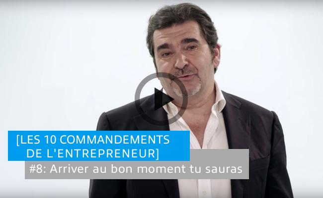 Photo de [Les 10 commandements de l'entrepreneur] #8: Arriver au bon moment tu sauras