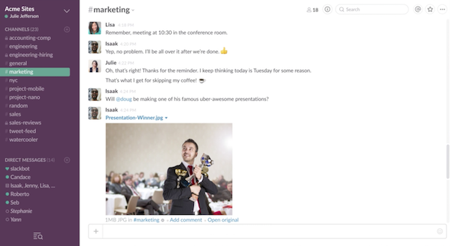 Photo de Slack noue un partenariat avec Google Cloud