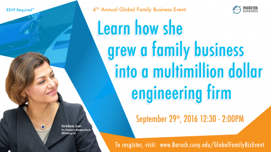 Annual Global Family Business Event