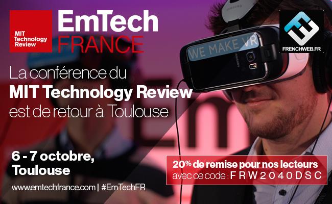 Photo de EmTech France 2016