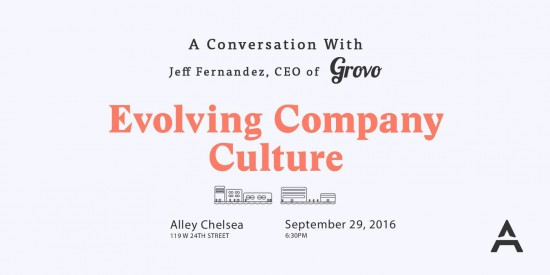 Evolving Company Culture with Jeff Fernandez (CEO of Grovo)