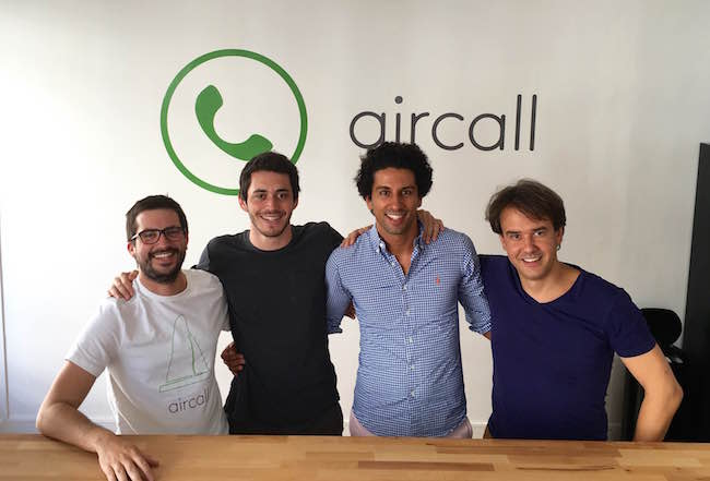 Photo de Aircall, 8 millions de dollars pour monter en gamme sur le call center en cloud