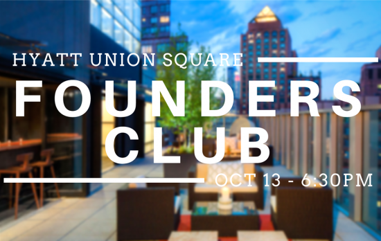 Founders Club Rooftoop Mixer