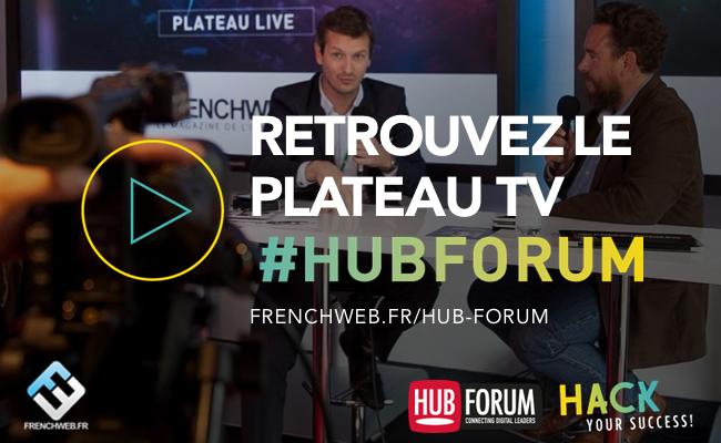 Photo de Suivez en direct le plateau TV du Hub Forum 2016