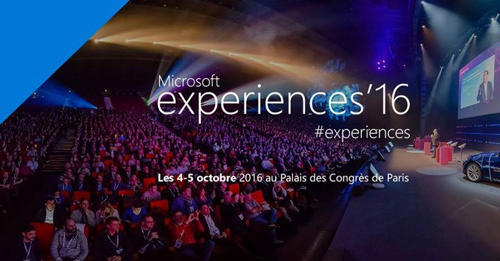 Photo de Microsoft experiences'16