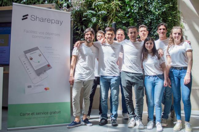 Photo de Sharepay, la carte bleue qui facilite le paiement partagé