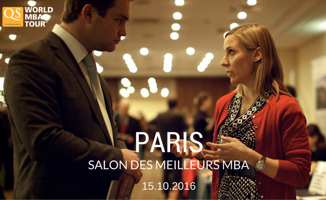 salon qs world mba tour paris On salon mba paris