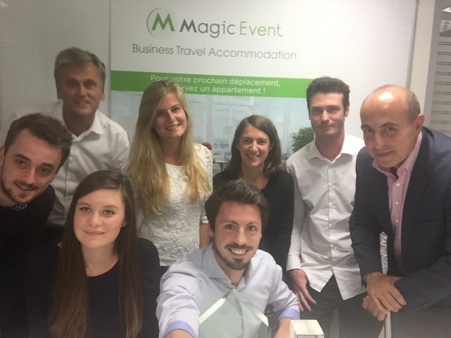Photo de Voyages d'affaires: MagicStay lève 1 million d'euros pour doubler sa base de logements