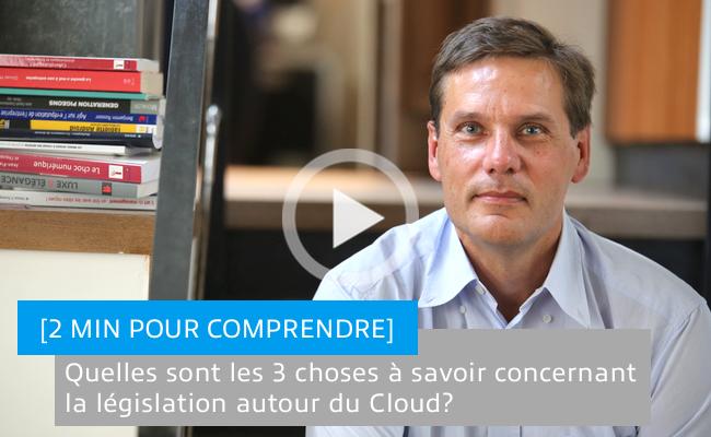 Photo de Quelles sont les 3 choses à savoir concernant la législation autour du Cloud?