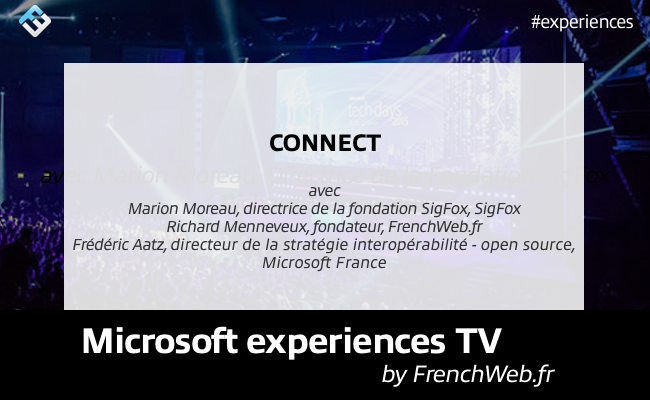 Photo de Experiences TV by FrenchWeb «Connect»