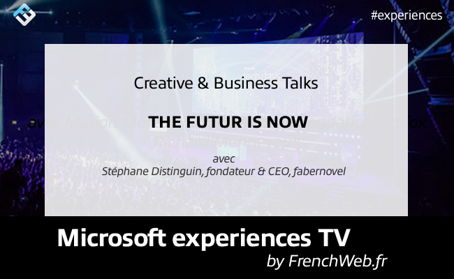 Photo de Experiences TV by FrenchWeb «The Futur Is Now»