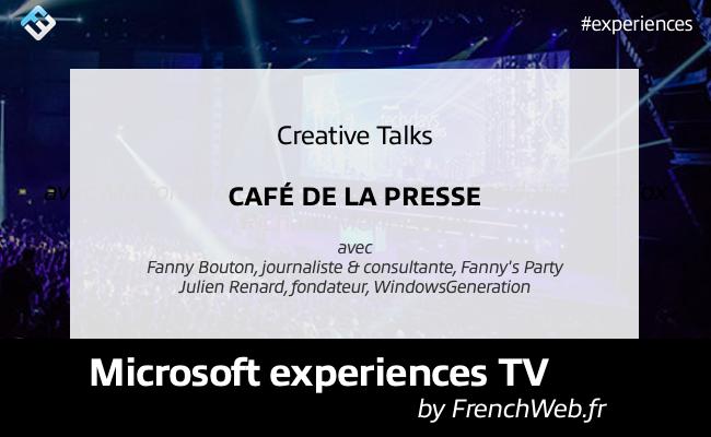 Photo de Experiences TV by FrenchWeb «Café de la Presse»
