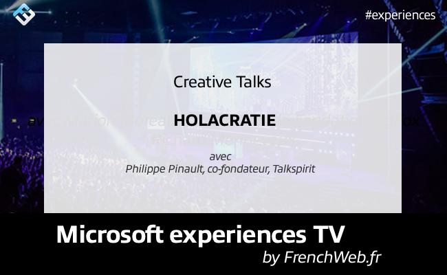 Photo de Experiences TV by FrenchWeb «Holacratie»