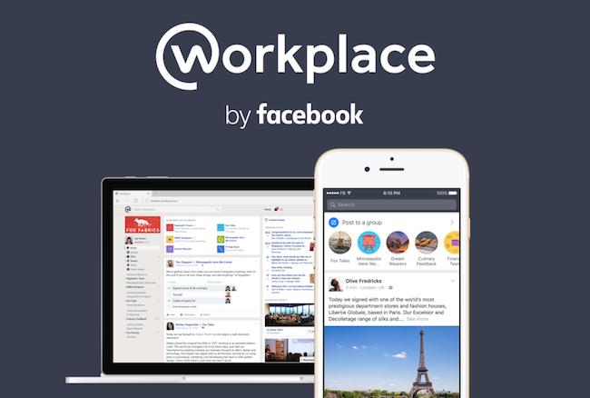 Photo de Face à LinkedIn et Slack, Facebook lance Workplace pour séduire les entreprises
