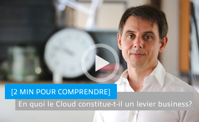 Photo de En quoi le Cloud constitue-t-il un levier business?