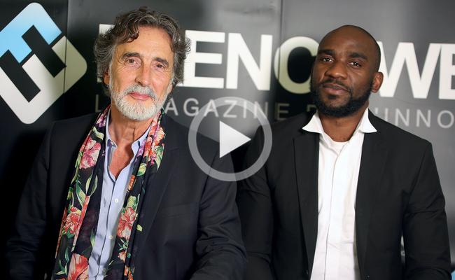 Photo de [LE CRASH TEST: Jean-François Copé], avec Patrick Robin (Avolta Partners) et Gaspard Bashala (BNBUnion)