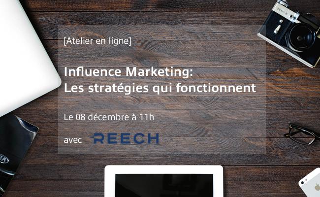 Photo de [Atelier en ligne] Influence Marketing: Les stratégies qui fonctionnent