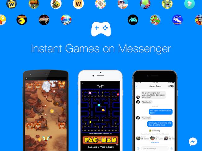 Photo de Facebook utilise Pac-Man pour créer plus d'engagement sur Messenger