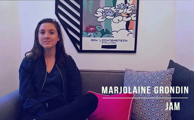 Photo de BeyondThePitch: Marjolaine Grondin, CEO de Jam