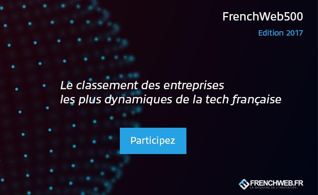 Photo de [Appel à candidatures] Le classement FrenchWeb 500 – édition 2017
