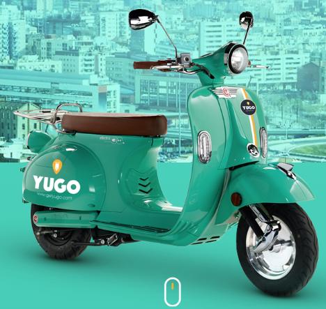 Yugo-scooter