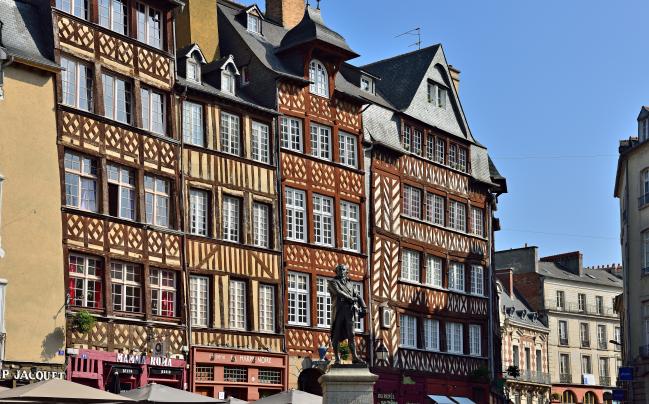 Altstadt von Rennes   Bretagne