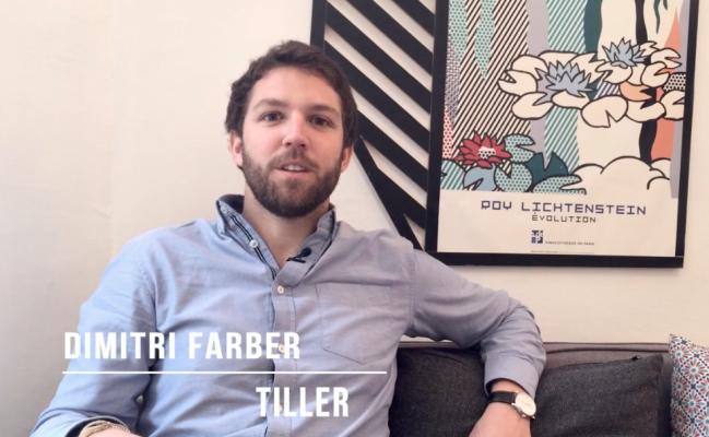 Photo de BeyondThePitch: Dimitri Farber, cofondateur de Tiller Systems