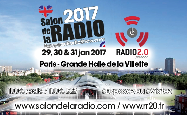 Les rencontres radio 2 0 rejoignent le salon de la radio for Salon de la radio 2017