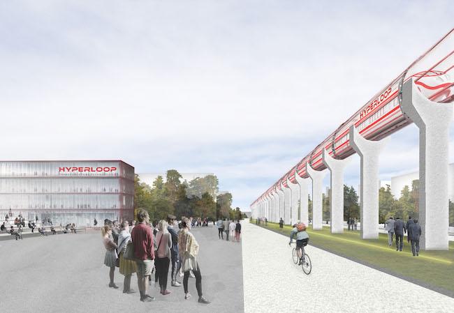 Photo de Hyperloop Transportation Technologies implante son centre de R&D européen à Toulouse
