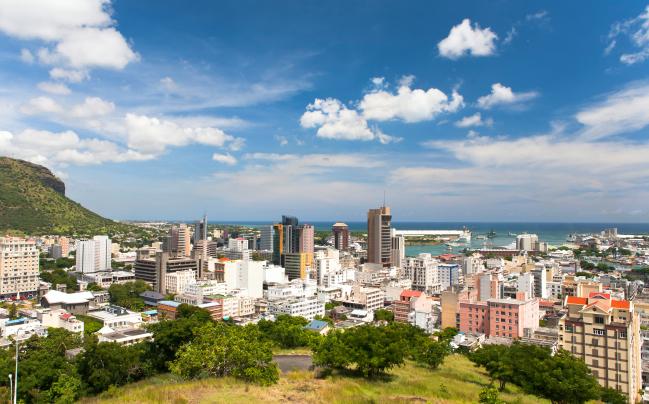 Port Louis - Hauptstadt Mauritius