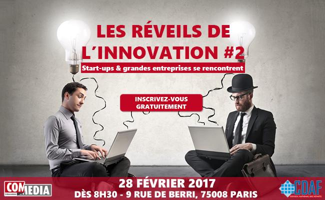 Photo de Les Réveils de l'innovation #2: Start-ups & Grandes entreprises se rencontrent