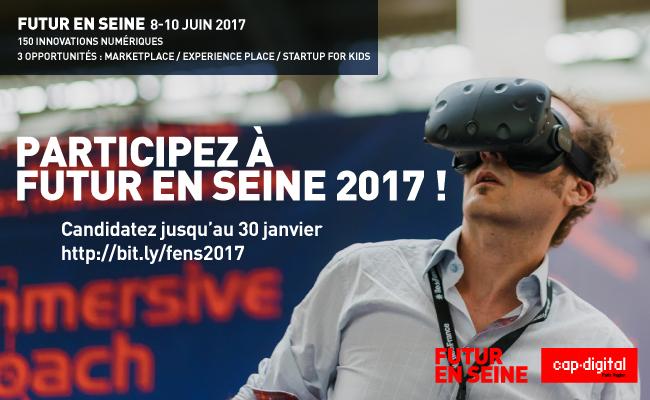 Photo de [Appel à candidatures] Participez au Village des Innovations de Futur en Seine 2017